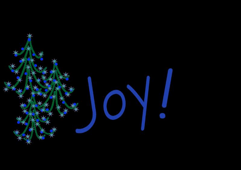 Christmas trees  w joy scaled