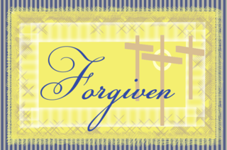 Forgiven w crosses