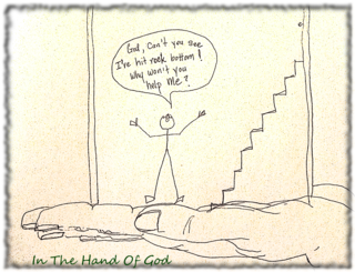Hand of God - Laugh at yourself