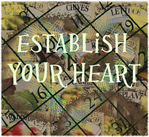 Establish your heart
