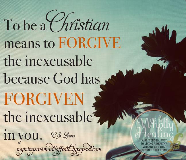 Forgive others - week 6