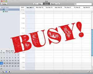 Calendar - BUSY
