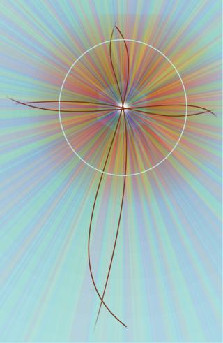 Abstract Cross 2 cr