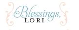 Blessings lori 2013