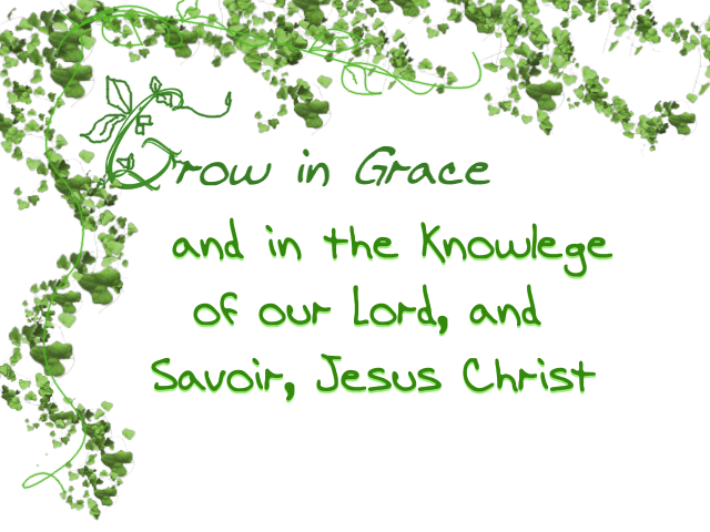 Grow green in grace