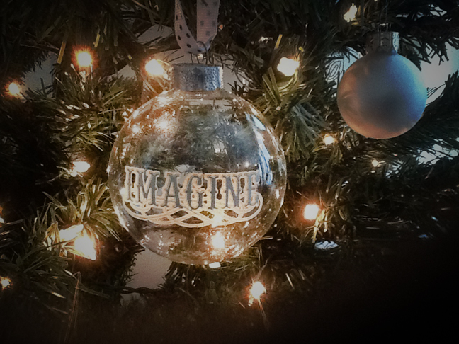 Christmas imagine ornament