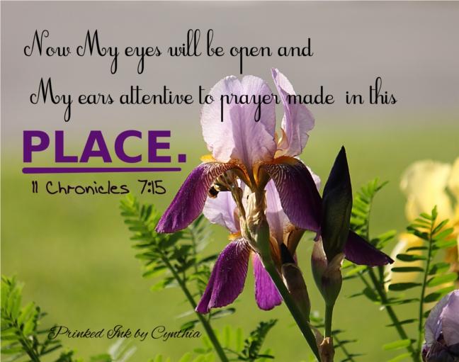 Iris A place for prayer