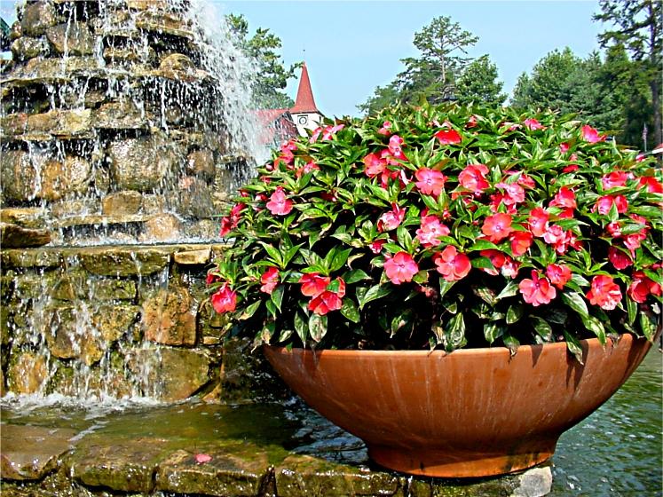 Fountain at Helen